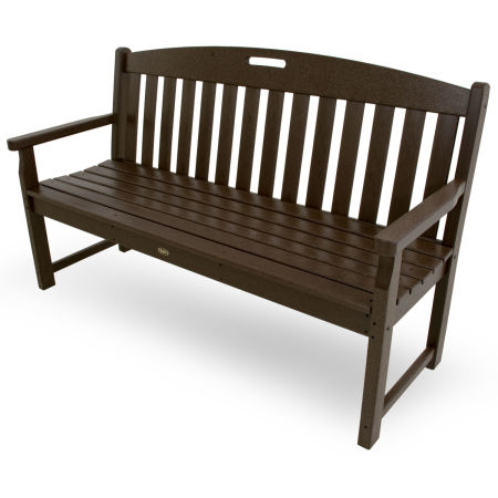 "Yacht Club 60"" Bench in Vintage Lantern"