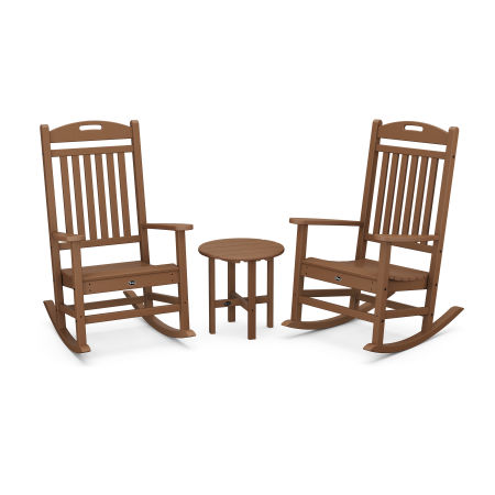 Yacht Club Rocker 3-Piece Set in Tree House