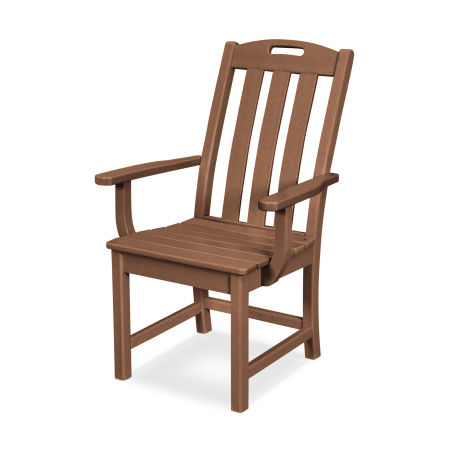 Yacht Club Dining Arm Chair in Tree House