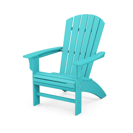 Yacht Club Curveback Adirondack Chair in Aruba