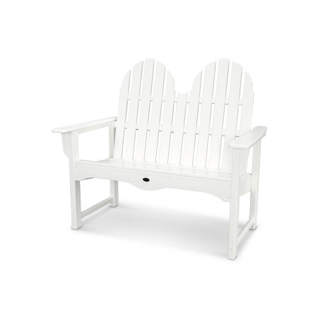 "Cape Cod Adirondack 48"" Bench in Classic White"