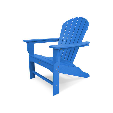 Yacht Club Shellback Adirondack Chair in Pacific Blue