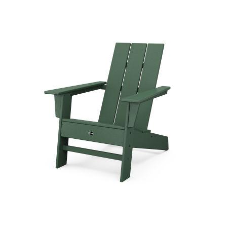 Eastport Modern Adirondack Chair in Rainforest Canopy