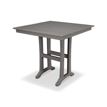 "Farmhouse 37"" Counter Table in Stepping Stone"