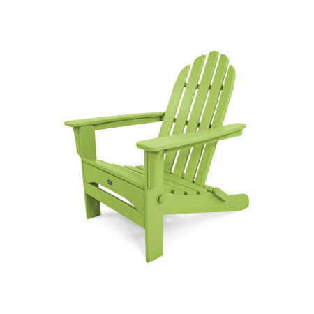 Cape Cod Folding Adirondack in Lime