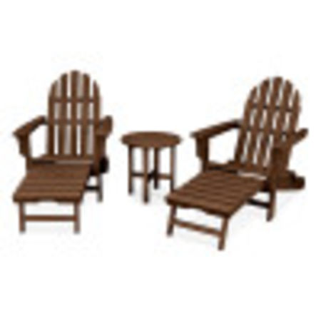 Cape Cod 3-Piece Ultimate Adirondack Set in Tree House