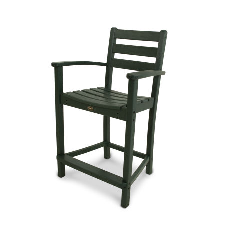 Monterey Bay Counter Arm Chair in Rainforest Canopy