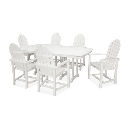 Cape Cod 7-Piece Dining Set in Classic White