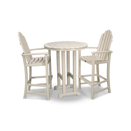 Cape Cod 3-Piece Bar Set in Sand Castle