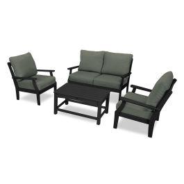 Yacht Club 4 Piece Deep Seating Chair Set Txs480 2
