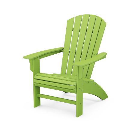 Yacht Club Curveback Adirondack Chair in Lime