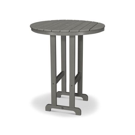 "Monterey Bay Round 36"" Bar Table in Stepping Stone"