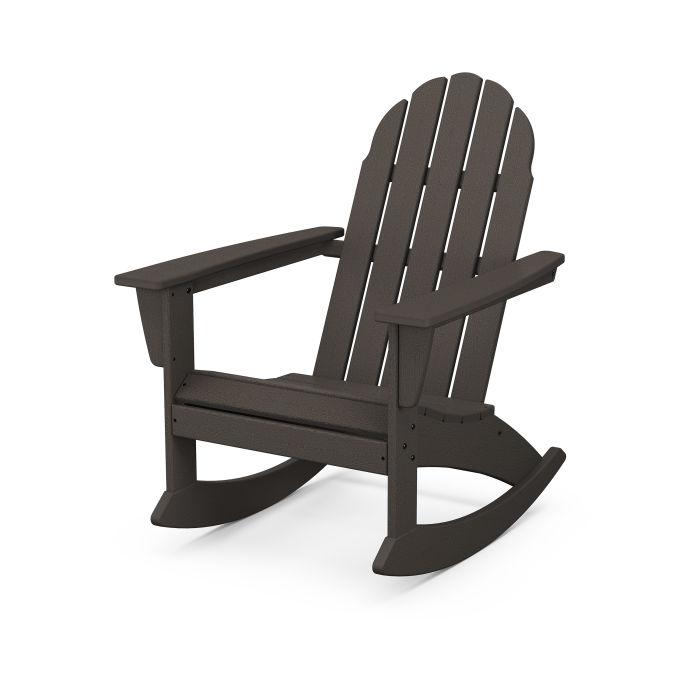 Vineyard Adirondack Rocking Chair in Vintage Finish