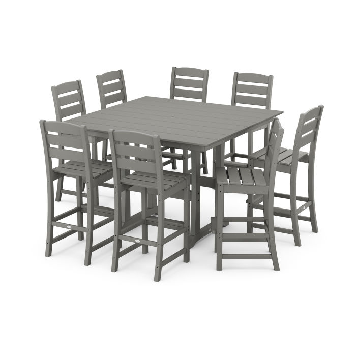 Lakeside 9-Piece Bar Side Chair Set