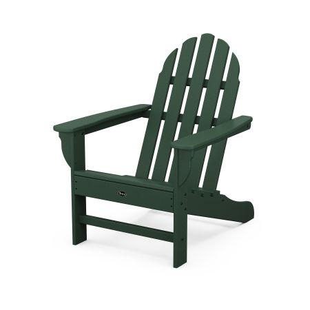 Cape Cod Adirondack Chair in Rainforest Canopy