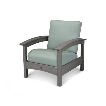 Rockport Club Chair in Stepping Stone / Spa