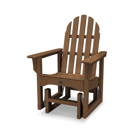 Cape Cod Adirondack Glider Chair in Tree House
