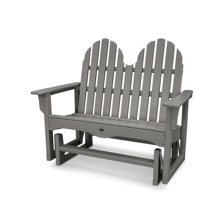 "Cape Cod Adirondack 48"" Glider in Stepping Stone"
