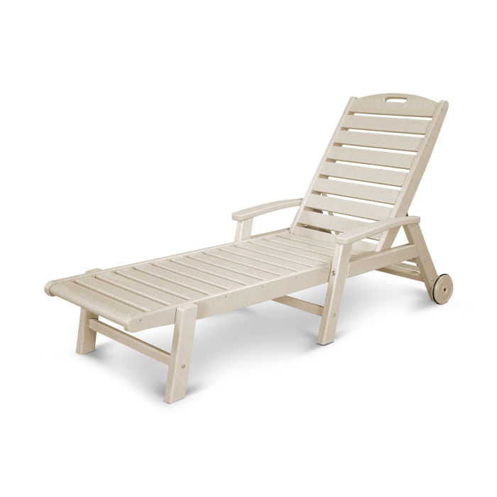 Yacht Club Wheeled Chaise