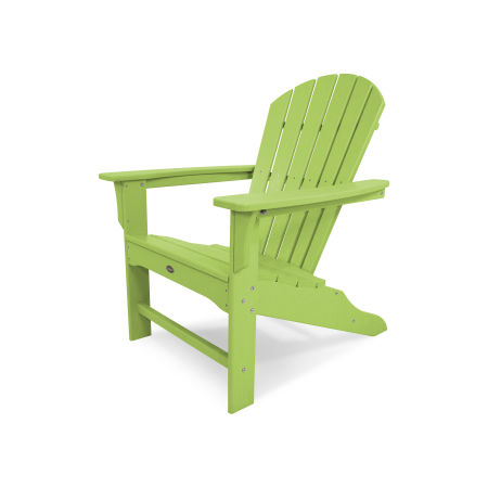 Yacht Club Shellback Adirondack Chair in Lime
