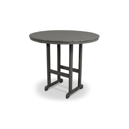 "Monterey Bay Round 48"" Bar Table in Stepping Stone"