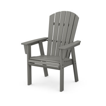 Nautical Curveback Adirondack Dining Chair
