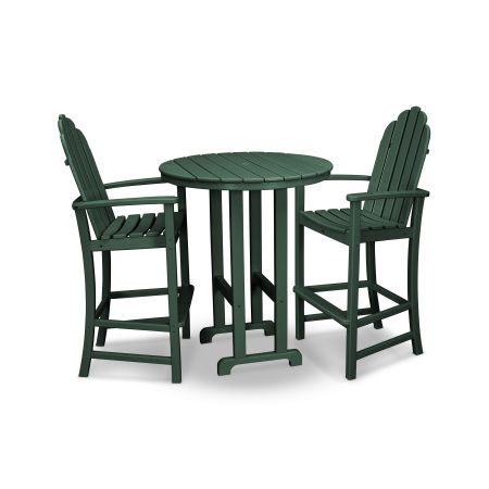 Cape Cod 3-Piece Bar Set in Rainforest Canopy