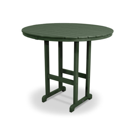 "Monterey Bay Round 48"" Bar Table in Rainforest Canopy"