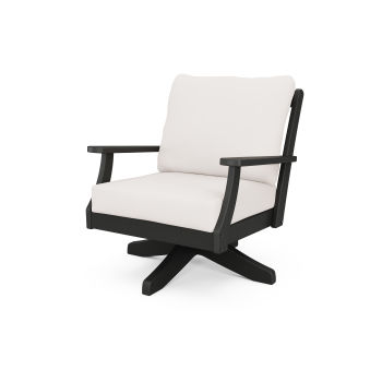 Braxton Deep Seating Swivel Chair
