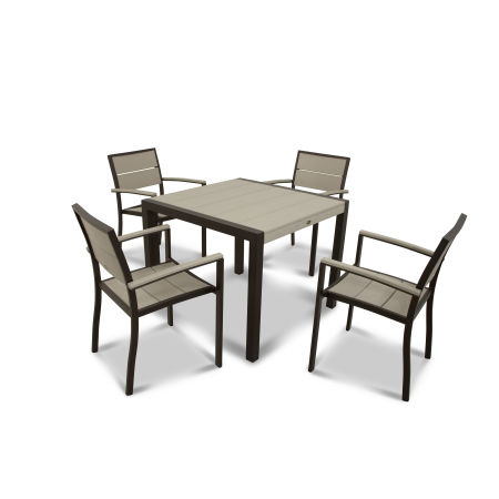 Surf City 5-Piece Dining Set