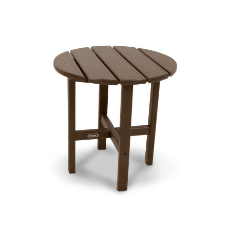"Cape Cod Round 18"" Side Table in Vintage Lantern"