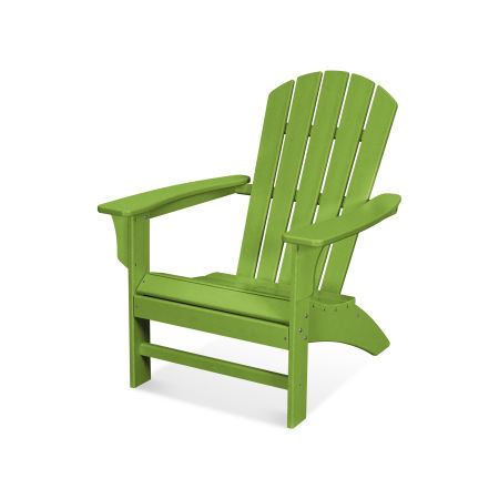 Yacht Club Adirondack Chair in Lime
