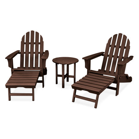Cape Cod 3-Piece Ultimate Adirondack Set in Vintage Lantern