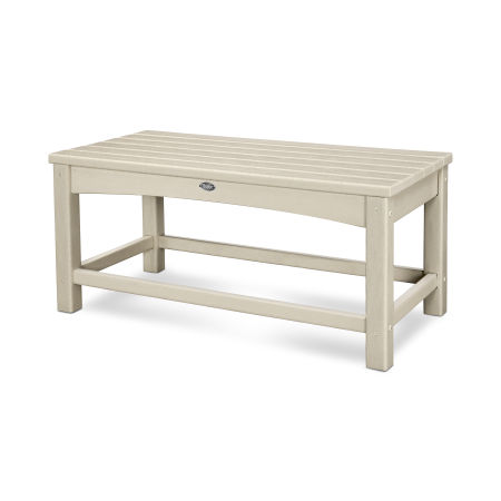Rockport Club Coffee Table in Sand Castle