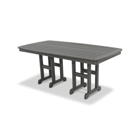 """Yacht Club 37"""" x 72"""" Dining Table in Stepping Stone"""