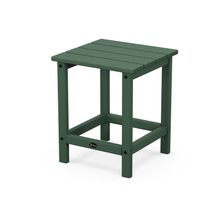 """Eastport 18"""" Side Table in Rainforest Canopy"""