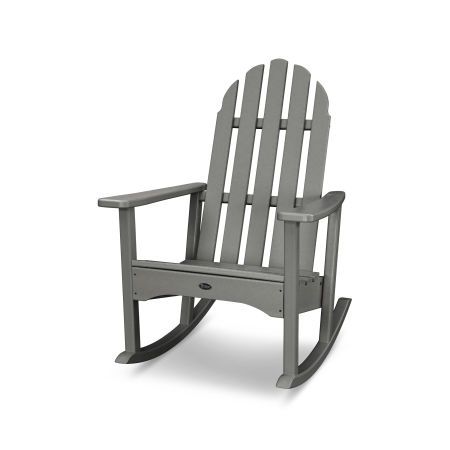 Cape Cod Adirondack Rocking Chair in Stepping Stone