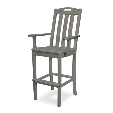 Yacht Club Bar Arm Chair in Stepping Stone