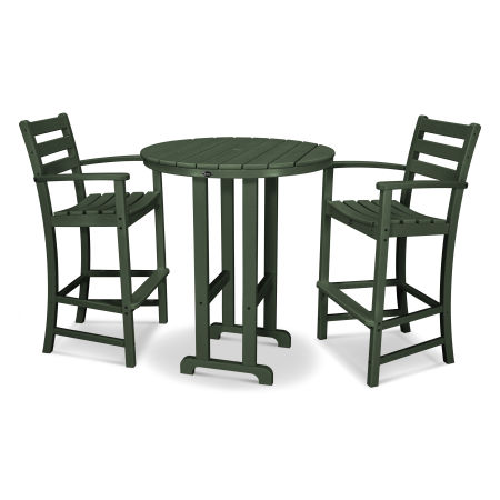 Monterey Bay 3-Piece Bar Set in Rainforest Canopy