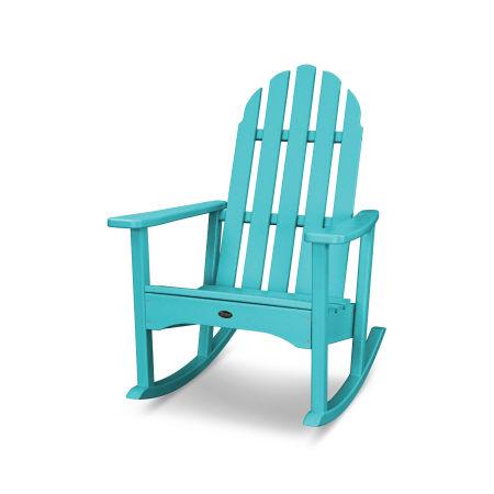 Cape Cod Adirondack Rocking Chair in Aruba