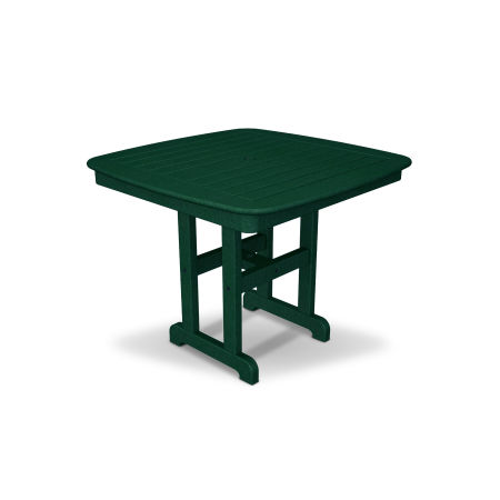 "Yacht Club 37"" Dining Table in Rainforest Canopy"