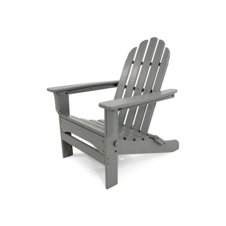 Cape Cod Folding Adirondack in Stepping Stone