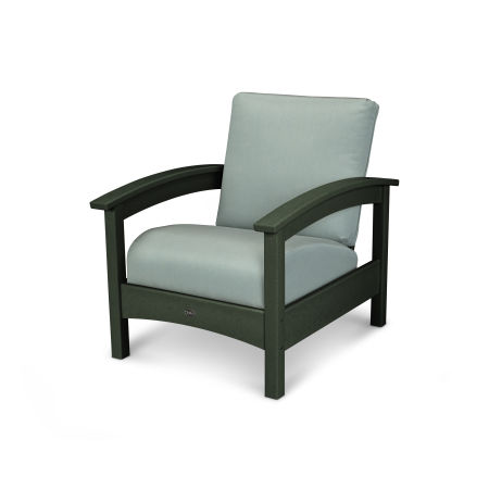 Rockport Club Chair in Rainforest Canopy / Spa