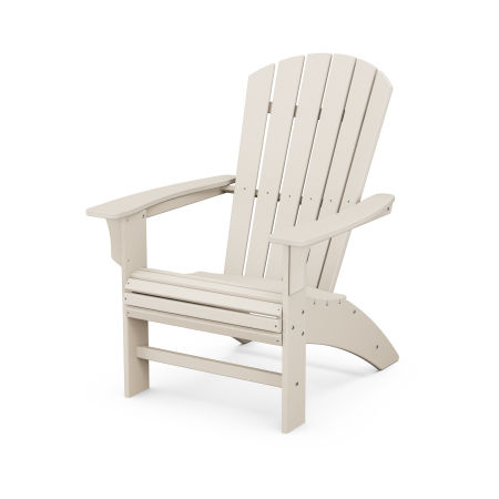Yacht Club Curveback Adirondack Chair in Sand Castle