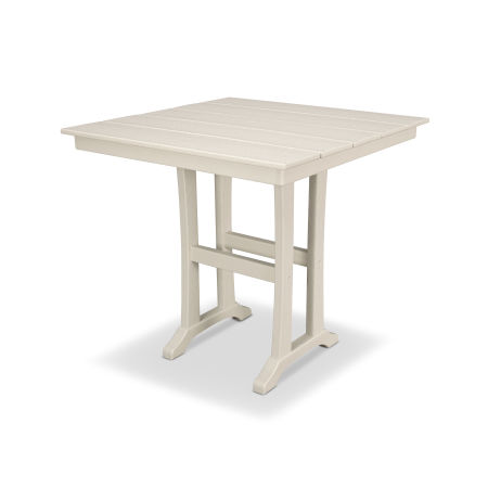 "Farmhouse 37"" Counter Table in Sand Castle"