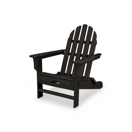 Cape Cod Ultimate Adirondack in Charcoal Black