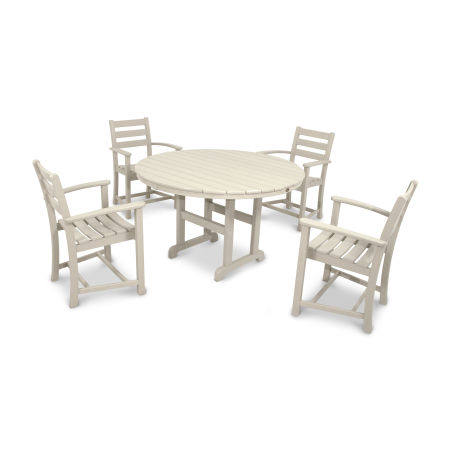 Monterey Bay 5-Piece Dining Set in Sand Castle
