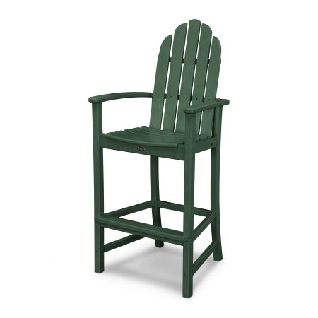 Cape Cod Adirondack Bar Chair in Rainforest Canopy