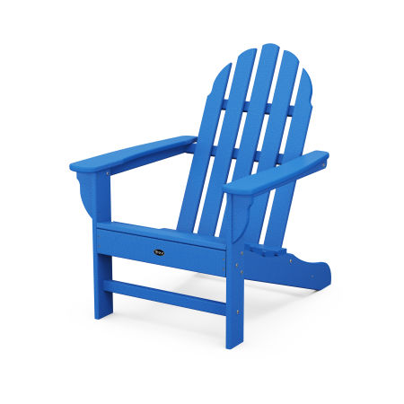 Cape Cod Adirondack Chair in Pacific Blue