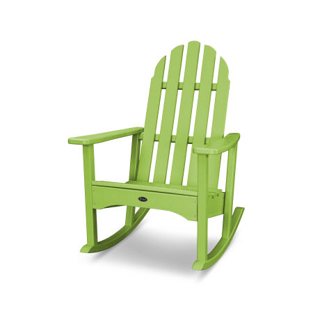 Cape Cod Adirondack Rocking Chair in Lime